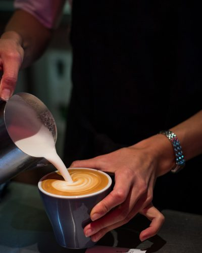Shot for Venziano Coffee